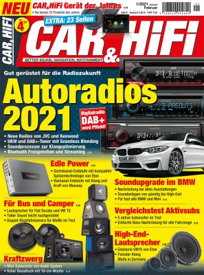 CarHifi_1_2021 Titelseite