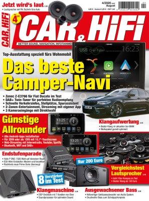 CarHifi_4_2020 Titelseite