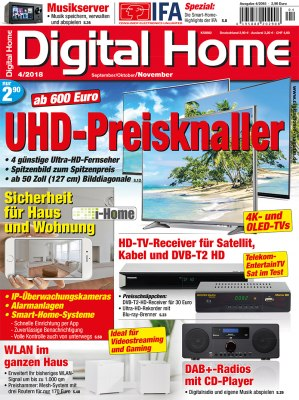 digital home test magazin f r fernseher lautsprecher mp3 player blu ray 3d lcd tv. Black Bedroom Furniture Sets. Home Design Ideas