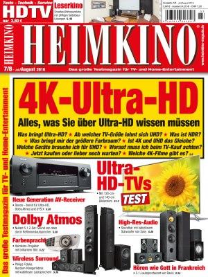 Heimkino_7_2016 Titelseite