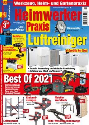 HeimwerkerPraxis_1_2021 Titelseite
