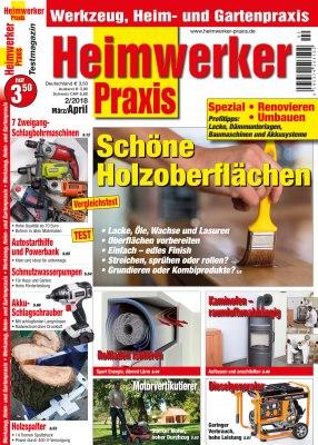 HeimwerkerPraxis_2_2018 Titelseite