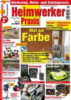 HeimwerkerPraxis_2_2019 Titelseite