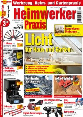 HeimwerkerPraxis_2_2020 Titelseite