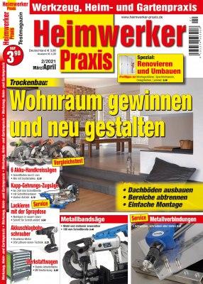 HeimwerkerPraxis_2_2021 Titelseite
