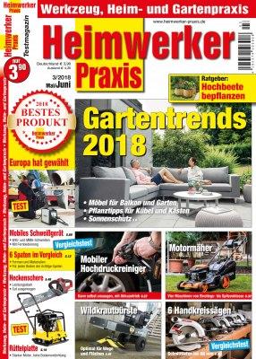 HeimwerkerPraxis_3_2018 Titelseite