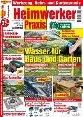 HeimwerkerPraxis_4_2015 Titelseite