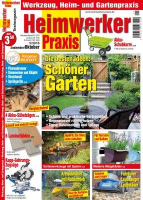 HeimwerkerPraxis_5_2016 Titelseite