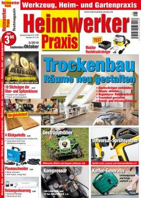 HeimwerkerPraxis_5_2018 Titelseite