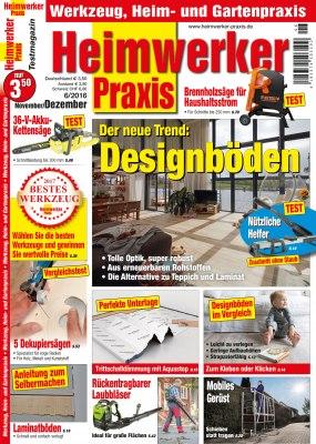 HeimwerkerPraxis_6_2016 Titelseite