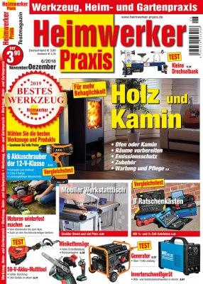 HeimwerkerPraxis_6_2018 Titelseite