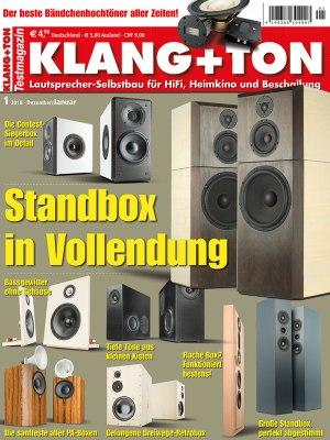 KlangTon_1_2018 Titelseite