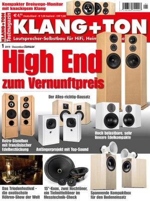 KlangTon_1_2019 Titelseite