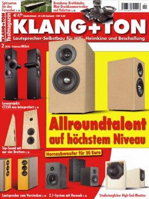 KlangTon_2_2016 Titelseite