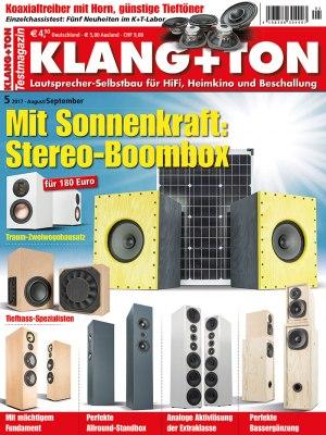 KlangTon_5_2017 Titelseite