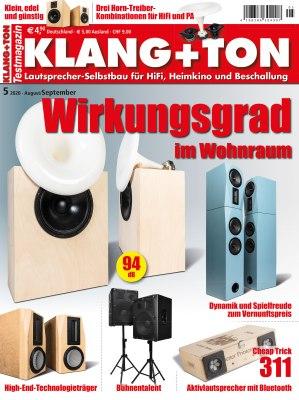 KlangTon_5_2020 Titelseite