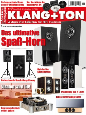 KlangTon_6_2018 Titelseite