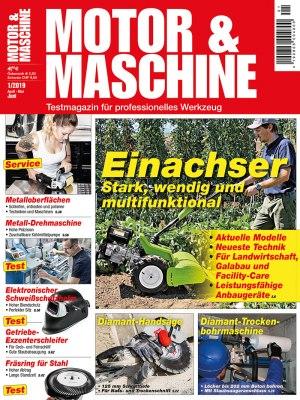 MotorMaschine_1_2019 Titelseite
