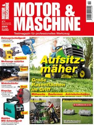 MotorMaschine_2_2019 Titelseite
