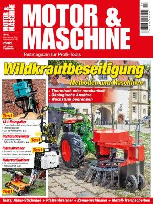 MotorMaschine_2_2020 Titelseite