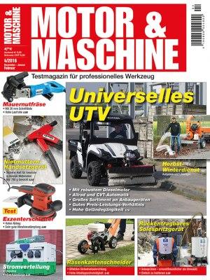 MotorMaschine_4_2016 Titelseite