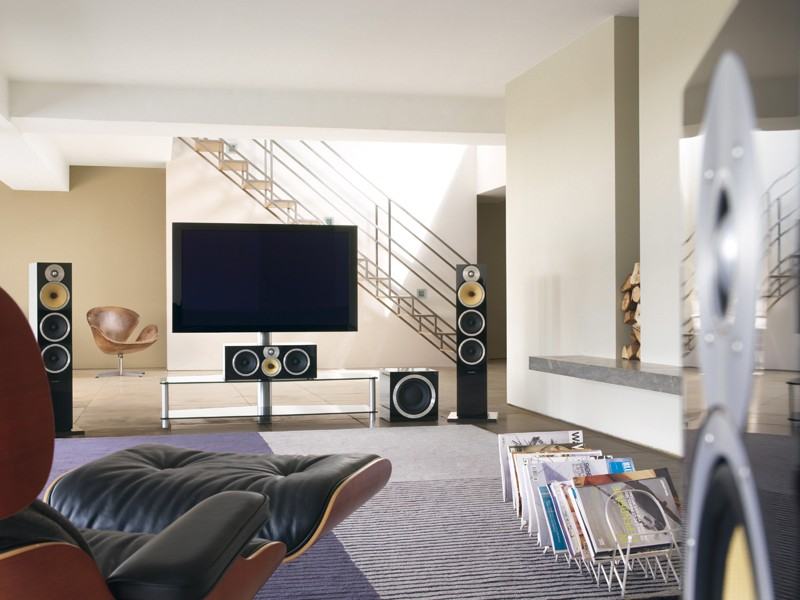 Test Lautsprecher Surround B Amp W Bowers Amp Wilkins Cm9