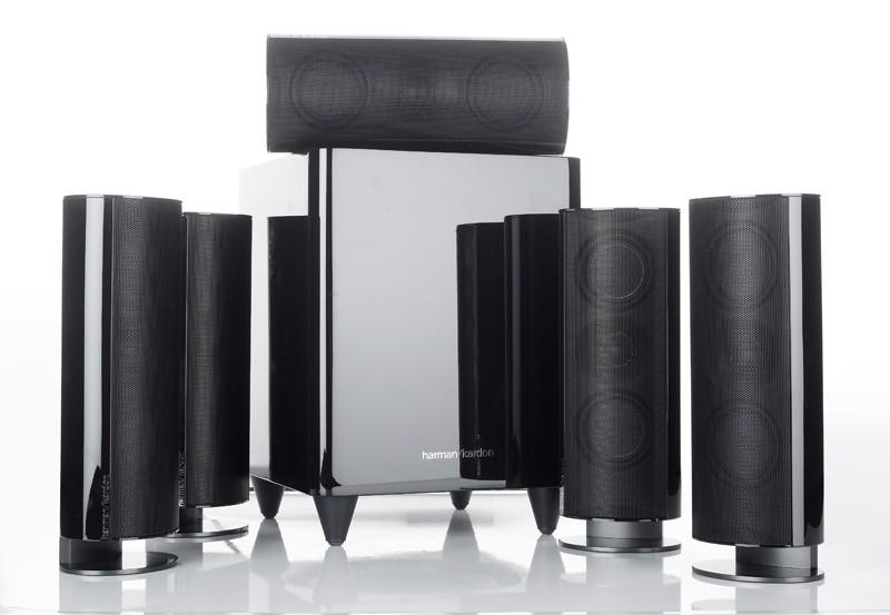 test lautsprecher surround harman kardon hkts60bq sehr. Black Bedroom Furniture Sets. Home Design Ideas
