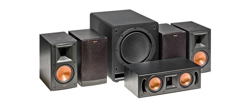 test lautsprecher surround klipsch reference mkii set. Black Bedroom Furniture Sets. Home Design Ideas