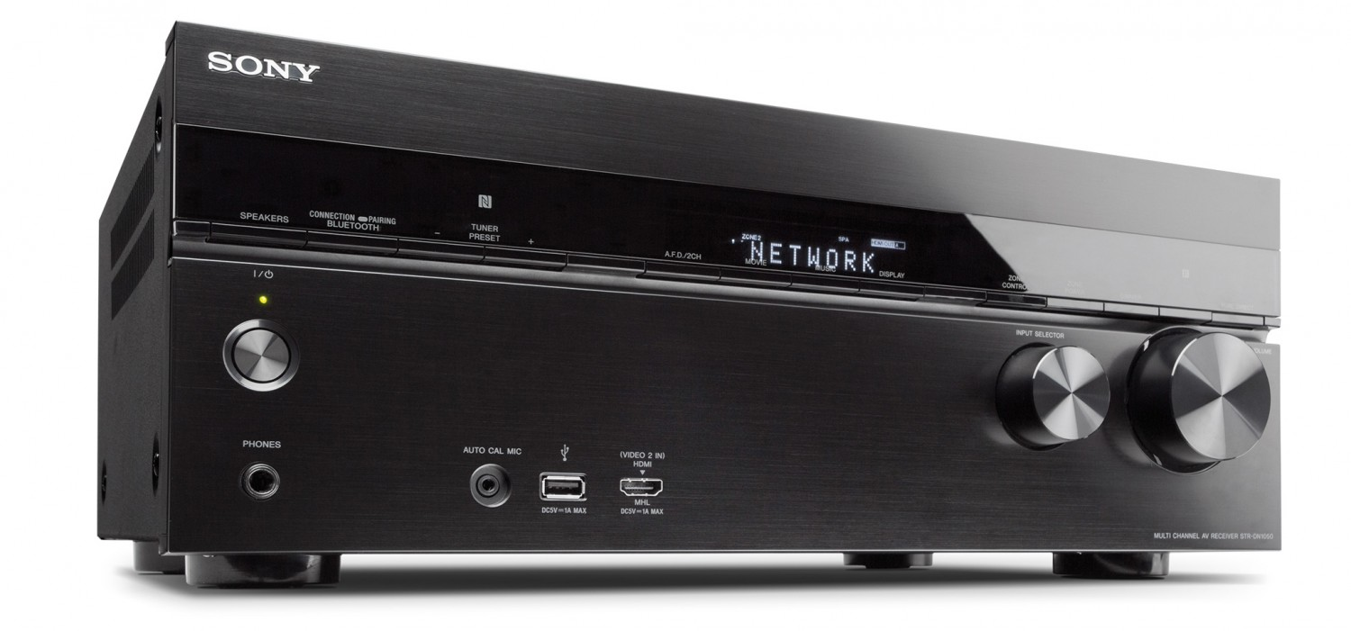 test av receiver sony str dn1050 sehr gut seite 1. Black Bedroom Furniture Sets. Home Design Ideas