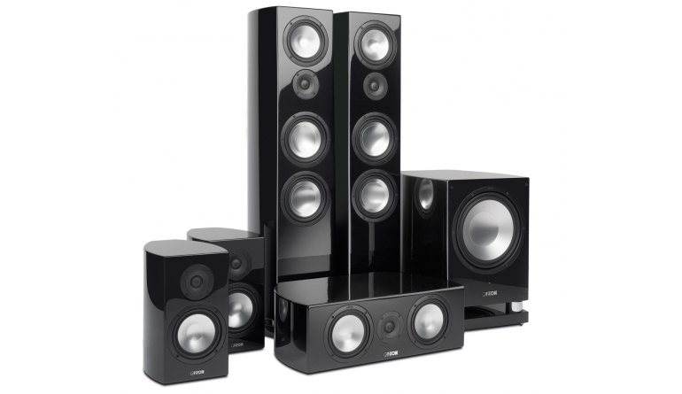 test lautsprecher surround canton vento serie mit 890 2. Black Bedroom Furniture Sets. Home Design Ideas