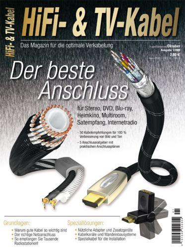HiFi- & TV-Kabel - Das Magazin für die optimale Verkabelung (print)