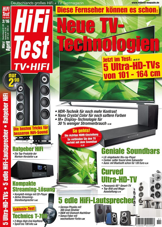 Hifi Test Tv Video 2 2016 Print
