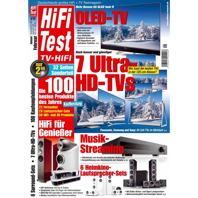 HIFI TEST Ausgabe 1/2017 (print)