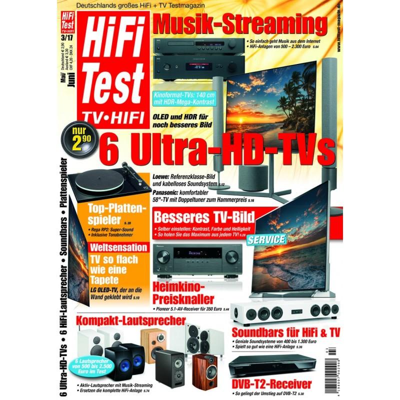 HIFI TEST Ausgabe 3/2017 (print)