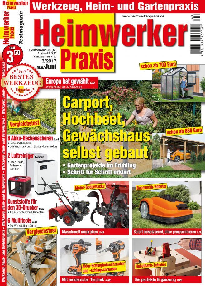 Carport, Hochbeet, Gewächshaus selbst gebaut (print)