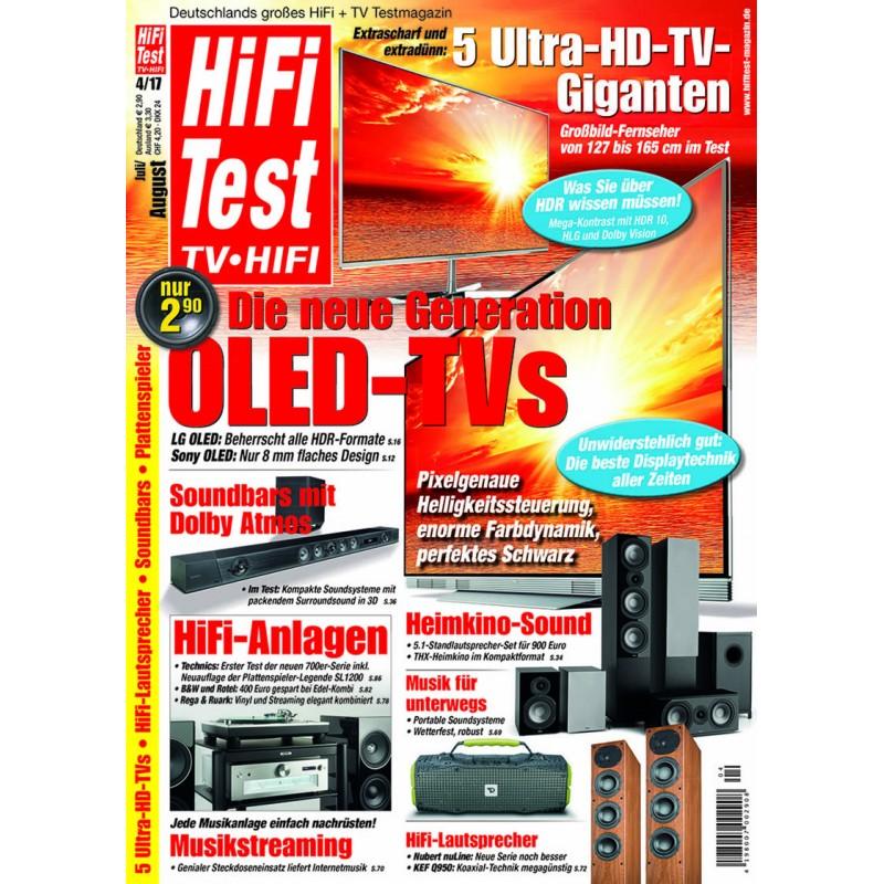 HIFI TEST Ausgabe 4/2017 (print)