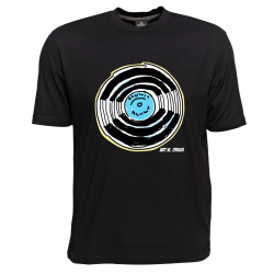 Pop Art T-Shirt von Art W. Orker, Motiv Schallplatte