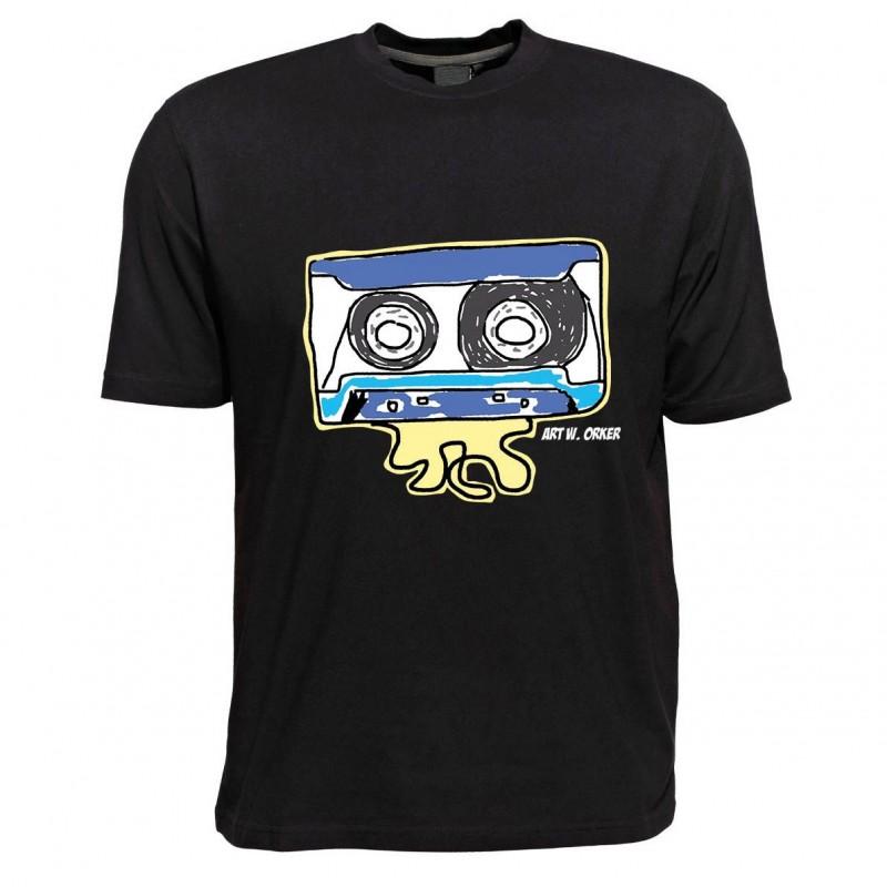 T-Shirt - Motiv Kassette