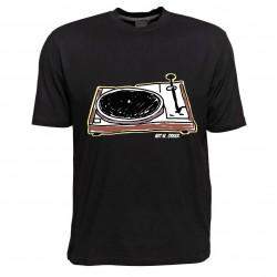 T-Shirt - Motiv Plattenspieler