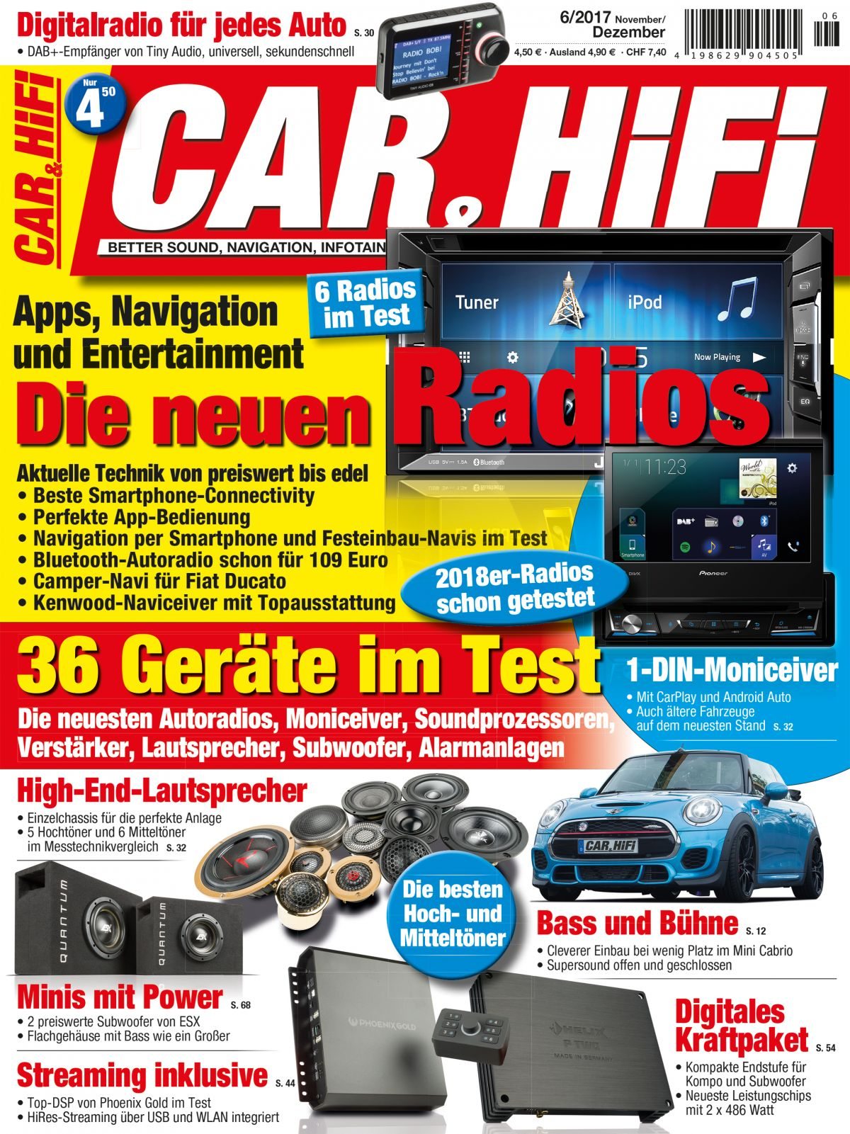 car hifi 6 2017 epaper. Black Bedroom Furniture Sets. Home Design Ideas
