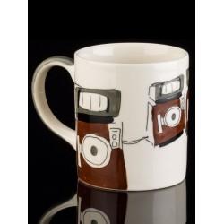 Tasse zum Thema HiFi, Motiv Lautsprecherbox
