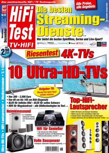 HIFI TEST TV VIDEO 6/2017 (print)
