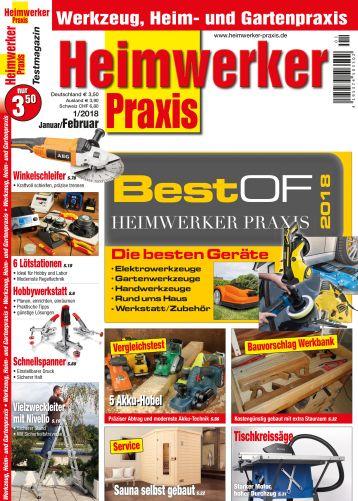 Best of HEIMWERKER PRAXIS 2018 (print)