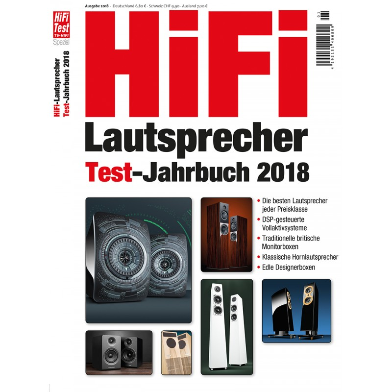 hifi lautsprecher test jahrbuch 1 2018 epaper. Black Bedroom Furniture Sets. Home Design Ideas