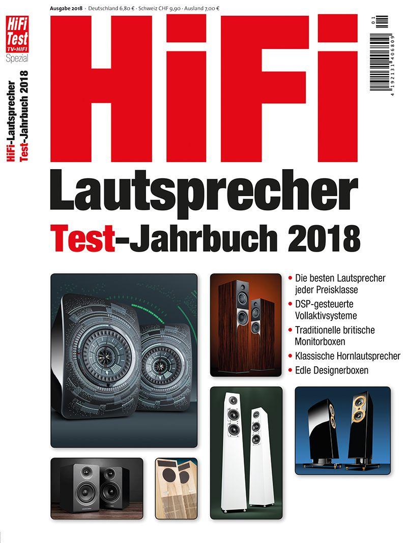 hifi lautsprecher test jahrbuch 1 2018 print. Black Bedroom Furniture Sets. Home Design Ideas