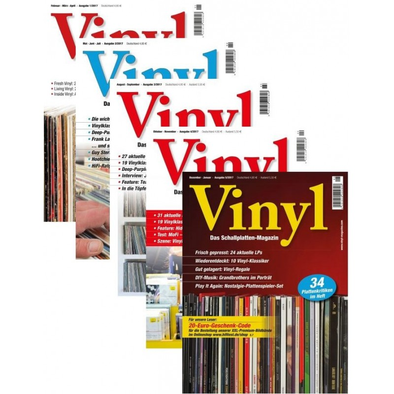 Vinyl Heft-Archiv 2017 (print)