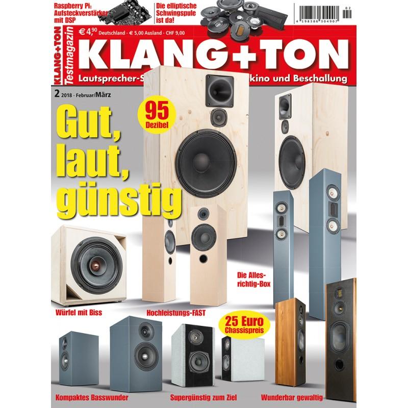 Klang + Ton 2/2018 (epaper)