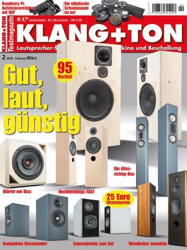 Klang + Ton 2/2018 (print)