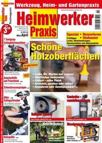 Heimwerker Praxis 2/2018 (print)