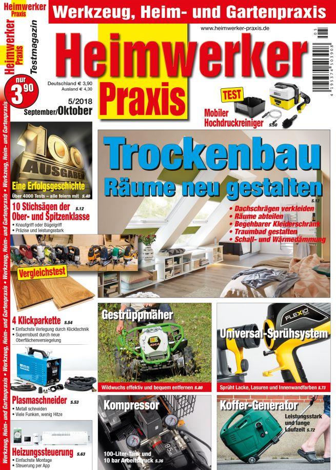 Heimwerker Praxis 5/2018 (print) - hifitest.de Shop